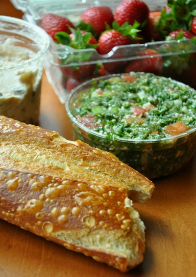 Four Winds Turkey Salad and Tabbouleh