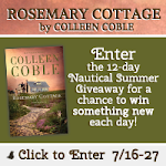 "Colleen Coble's ""Rosemary Cottage"" Nautical Summer Giveaway"