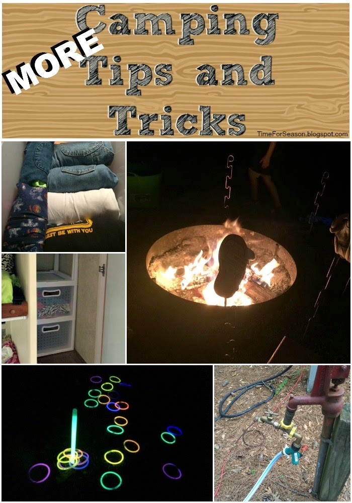 MORE Helpful Camping Tips and Tricks