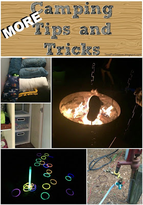 camping trips tips and hacks