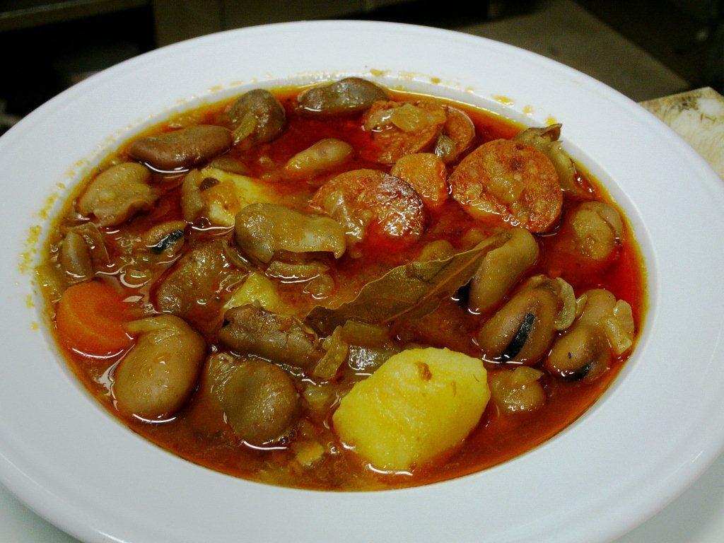 las recetas de l 39 ngel receta n 180 habas secas a la catalana