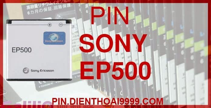 Pin dung lượng cao EP500 Sony U5i X7 Xperia Mini W8 giá rẻ chất lượng nhất Hà Nội  Pin SE Vivaz/ Vivaz Pro/ W8/ WT18i/ ST15i/ ST17i/ SK17i/ E15i/ E16i/ U5i/ U8i/ X7/ X7 Mini/ X8/ Xperia mini/ Xperia mini Pro/ Sony Ericsson Xperia active Pin Sony Ericsson EP500 - Pin Galilio dung lượng cao 14540mah - Giá 160k - Pin Sony Ericsson Vivaz/ Vivaz Pro/ W8/ WT18i/ ST15i/ ST17i/ SK17i/ E15i/ E16i/ U5i/ U8i/ X7/ X7 Mini/ X8/ Xperia mini/ Xperia mini Pro/ Sony Ericsson Xperia active - Kích thước: 4.23cm x 4.5cm x 0.61cm - Bảo hành: 6 tháng  GIAO HÀNG VÀ BẢO HÀNH TẬN NHÀ  Quý khách có nhu cầu mua pin,  hãy liên hệ với chúng tôi:  - Khu vực Ba Đình: 0904.691.851 - Khu vực Hà Đông: 01273.473.357 - Khu vực Từ Liêm: 0976.997.907  Website: http://pin.dienthoai9999.com Mua số lượng lớn: 0942299241  - Hướng dẫn sử dụng, bảo quản pin: http://pin.dienthoai9999.com/huong-dan-su-dung-pin - Quy định bảo hành: http://pin.dienthoai9999.com/quy-dinh-bao-hanh-pin - Khách hàng góp ý: http://pin.dienthoai9999.com/khach-hang-gop-y  Xem thêm pin cùng loại:  - Pin Sony Ericsson BST-33 - Pin Sony Ericsson BST-36 - Pin Sony Ericsson BST-37 - Pin Sony Ericsson BST-38 - Pin Sony Ericsson BST-39 - Pin Sony Ericsson BST-40 - Pin Sony Ericsson BST-41 - Pin Sony Ericsson BST-43 - Pin Sony Ericsson BA700 - Pin Sony Ericsson BA750   Một số điện thoại dùng được pin dung lượng cao EP500:  Sony Ericsson Vivaz   Đơn giản, đẹp và tinh tế là những gì mà tôi có thể nói về chiếc điện thoại Vivaz của Sony Ericsson. Thậm chí nếu không có hàng chữ Sony Ericsson được in phía sau thì ít ai nghĩ đây là một chiếc điện thoại di động nếu chỉ nhìn từ mặt sau của máy. Được trang bị camera 8.1 MP với khả năng quay phim HD, Vivaz quả thật là một đối thủ đáng gờm của các điện thoại khác có chức năng chụp hình.  Vivaz có hình dáng giống như một vỏ sò, phần giữa dày và mỏng dần về hai phía đầu. Mặt sau của máy là camera 8.1 MP, đèn Flash và dòng chữ HD tuy đơn giản nhưng thiết kế khá đẹp. Cạnh trái của máy là cổng Micro USB và lỗ c