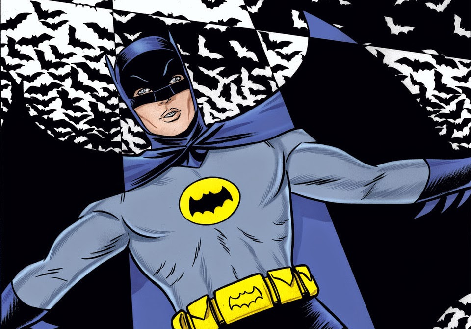 Mike Allred's 'Batman '66′ Take on DC Universe
