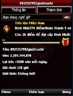 Tai Game Bai Tien Len Cho JAVA