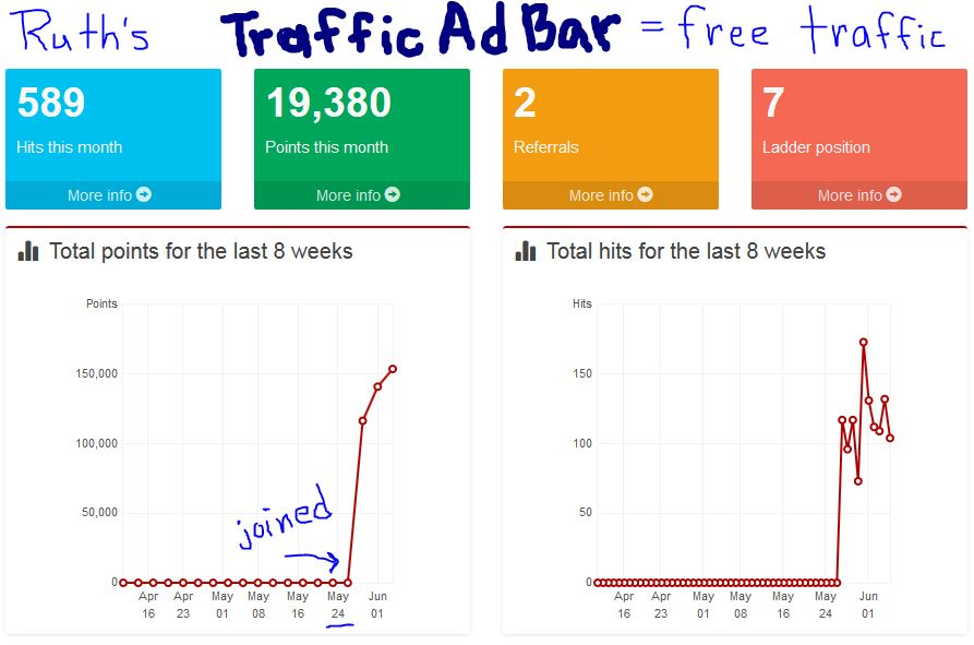 how to get more traffic to my website free