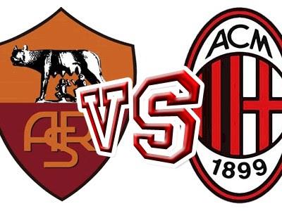 Roma-Milan in Diretta TV Oggi (Calcio Serie A)