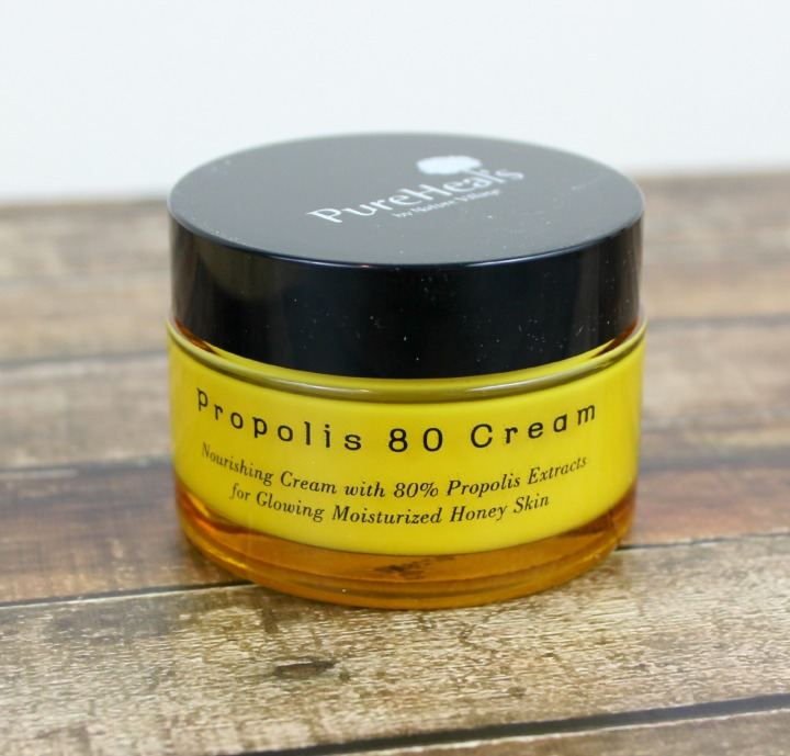 PureHeals Pure Heals by Nature Village Propolis 80 Cream review 퓨어힐스 프로폴리스 80 크림 50ml jar