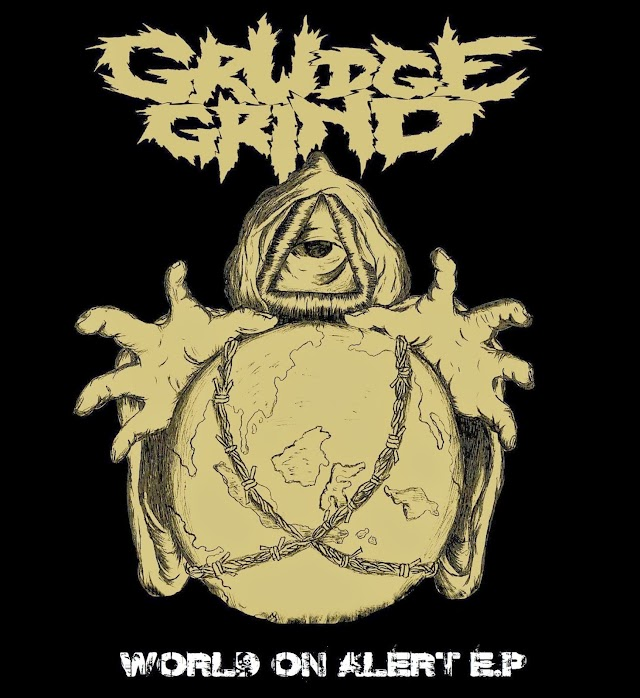 Grudgegrind - World On Alert EP 2013 (Kaset)
