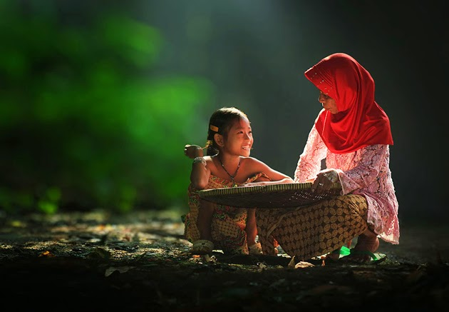 Photography of Indonesia Village