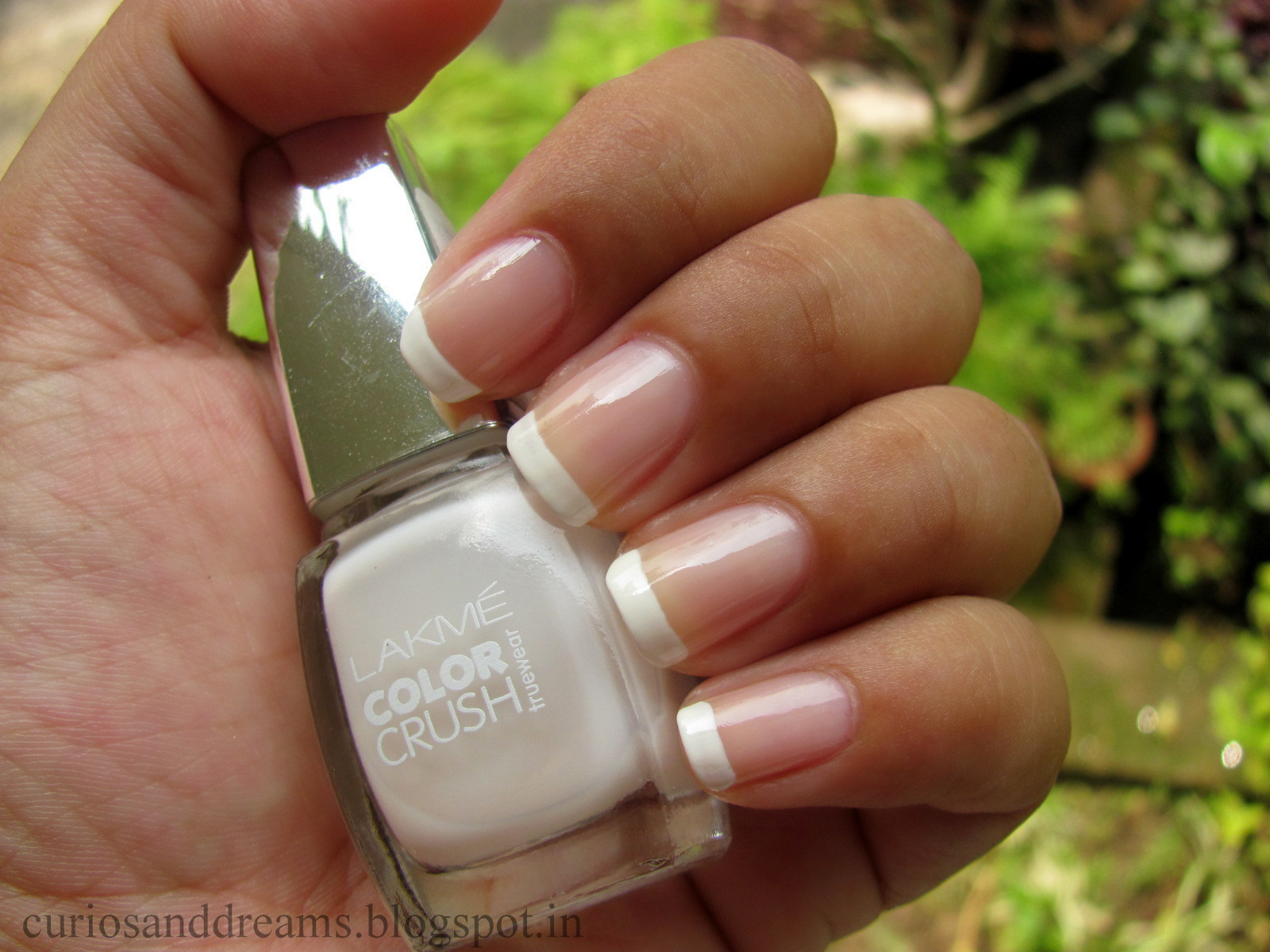 Lakme color crush no 26, Lakme color crush no 26 review, french manicure