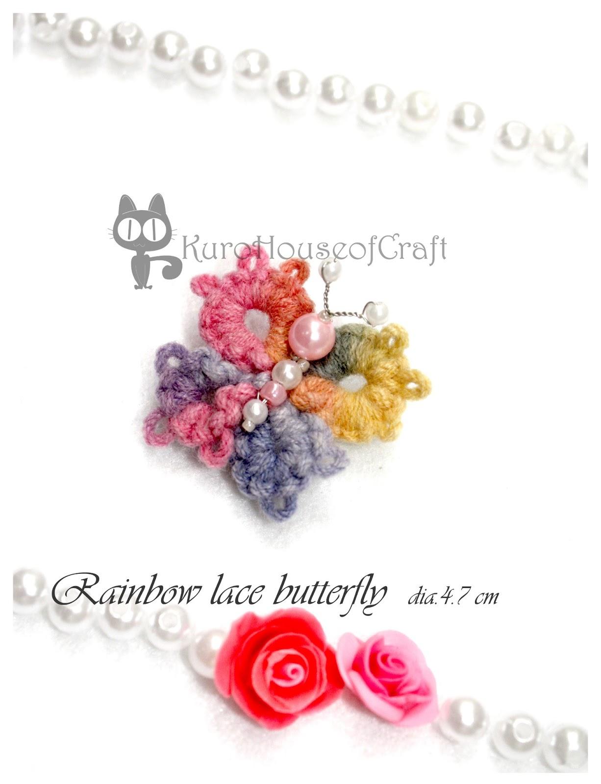Kurohouse Craft Bross Handmade Cantik Clay Rajut Beads