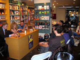 """Presentación de """"Bermellón"""" en La Casa del Libro (04/05/2011)"""