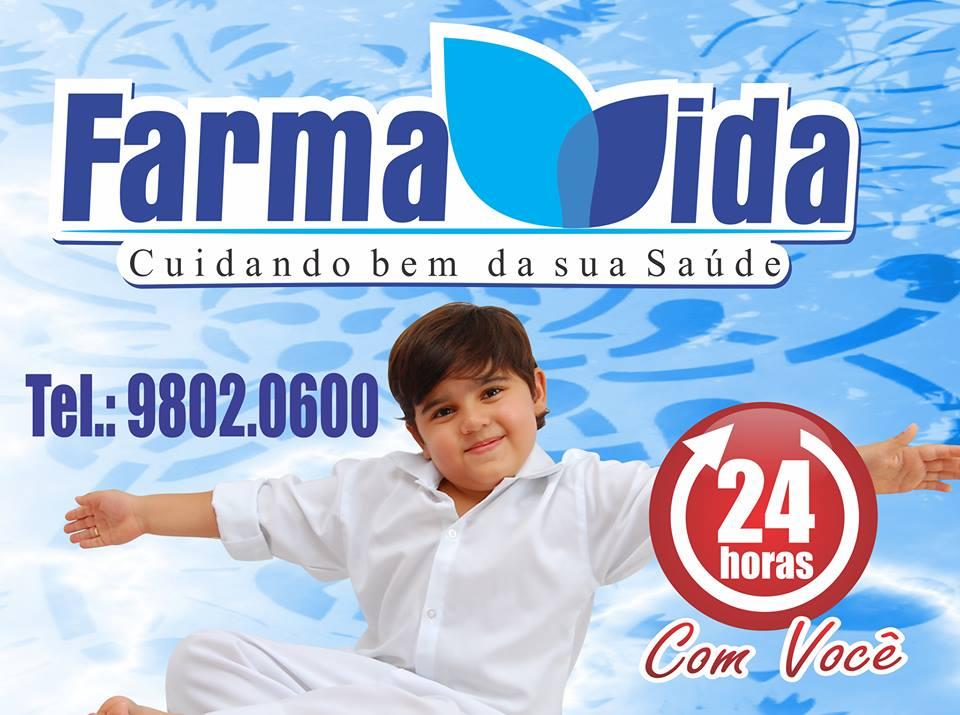 """FARMA VIDA """"Cuidando bem da sua Saúde"""" 24 Horas"""