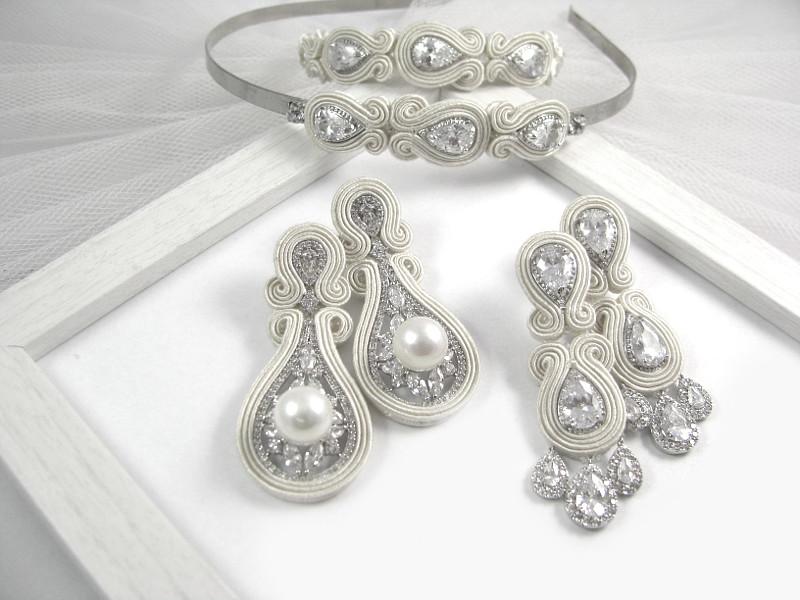 Kolekcja PRESTIGE, linia SIMPLE, sutasz ślubny ivory