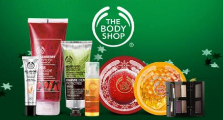 Offers cannot be used in conjunction with any other offer, promotion or discount. Offers not available through The Body Shop At Home. Offer excludes delivery charges and purchases of gift cards, charitable items, store made gifts, sale items and the following products.