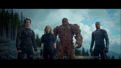 Fantastic Four (2015 / Movie) - 'Together' TV Spot - Screenshot