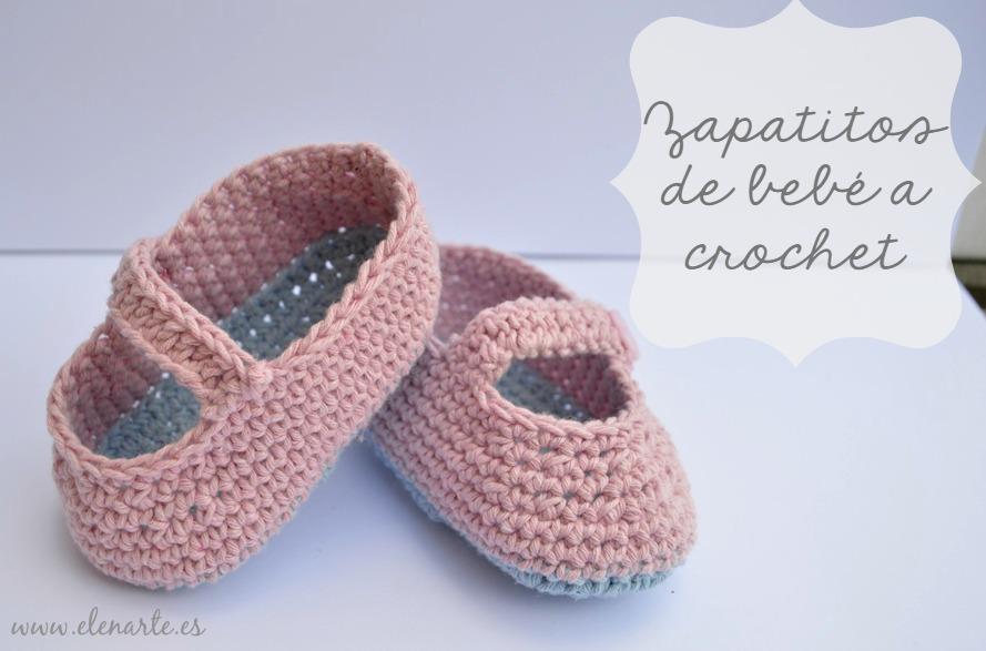 Zapatitos de bebé de ganchillo