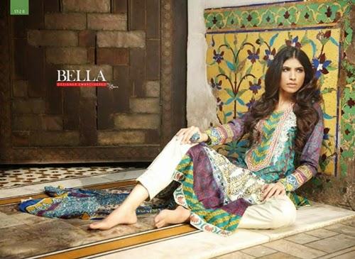 Bella Designer Lawn 2014