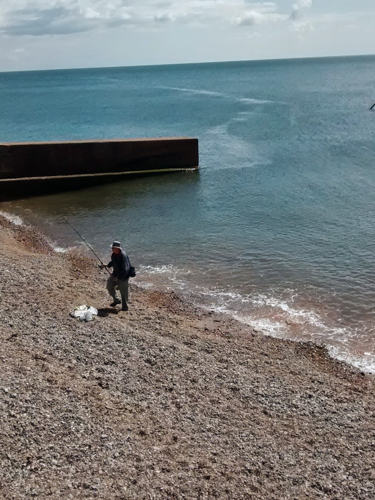Fisherman at Sidmouth