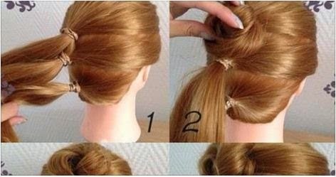 Formal Prom Updo Hairstyle Step By Step Calgary