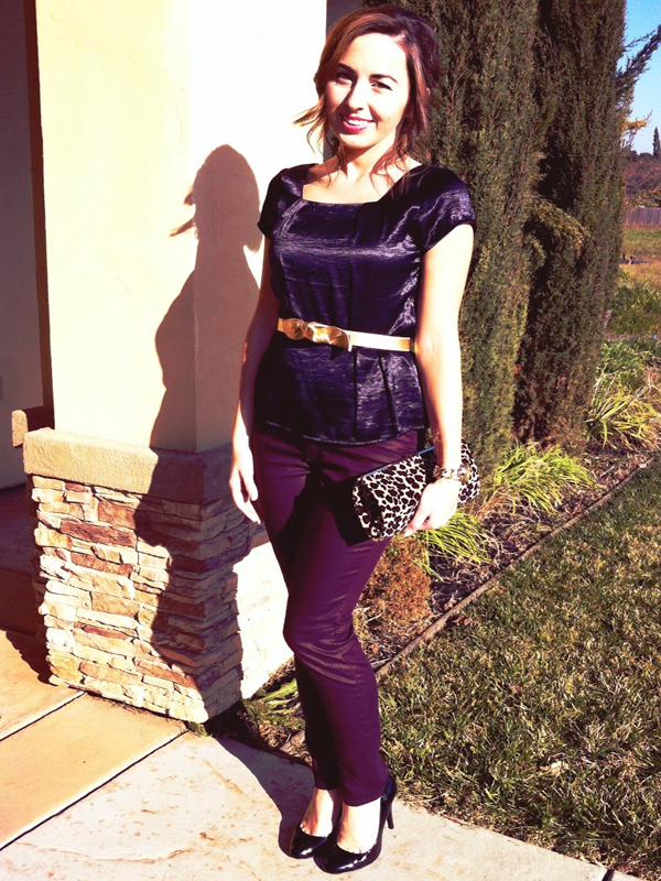 Velvet in style All purple outfit How to wear purple