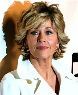 Picture of Actress Jane Fonda who struggled with anorexia and bulimia for 30 years