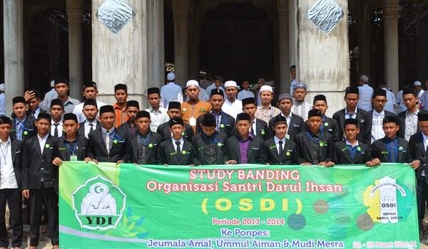 Study Banding Dayah Darul Ihsan ke MUDI Mesra.