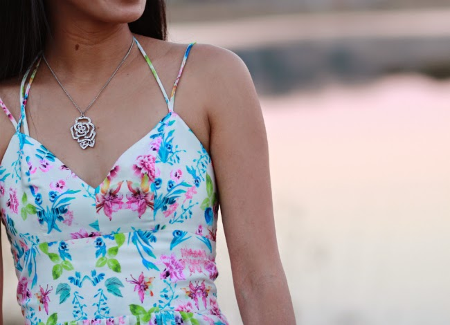 chanel authentic necklace charm camellia flower