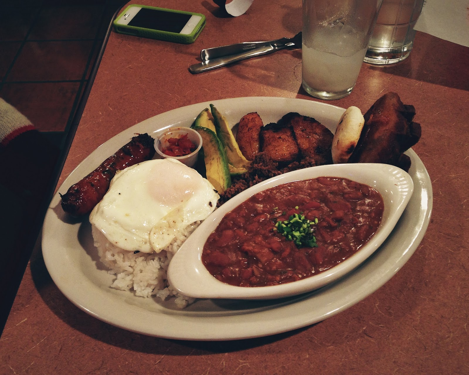 Badeja Piasa at Guanttanamera restaurant in Nashville Tennessee