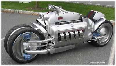 Dodge Tomahawk a moto mais cara do mundo
