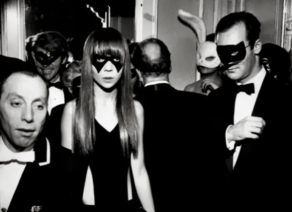 Fetish Inspirations : Penelope Tree At The Truman Capote's Black And White Ball - 1966