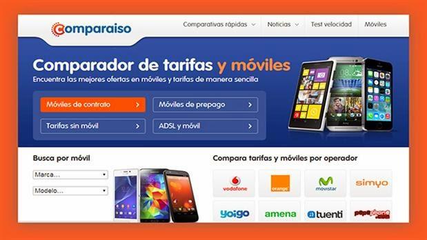 Comparaiso, nuevo servicio de comparador de telefonía móvil