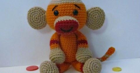 Amigurumi Sock Monkey Crochet Pattern : Sock Monkey Free Crochet Pattern ~ Amigurumi To Go