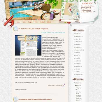 Feel Better Blogger Template. free download template blogspot