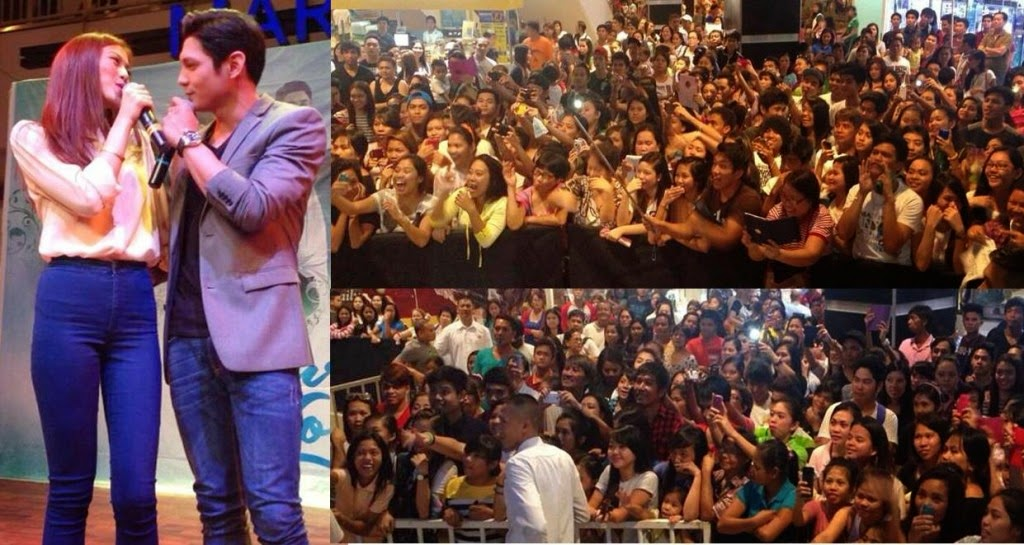 Pure Love mall show in Pampanga