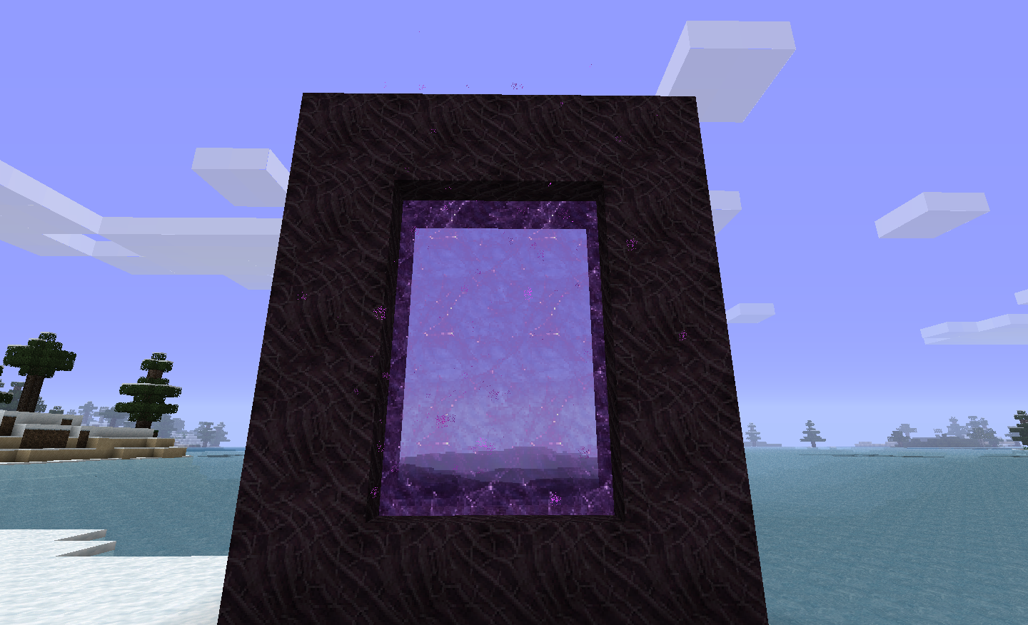 how to make a nether portal in real life