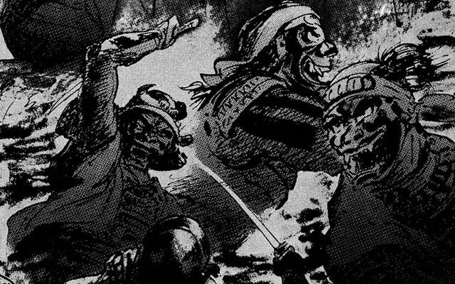 Hanzou no Mon, Path of the Assassin, manga, truyện tranh, ninja, sát thủ, nhật bản