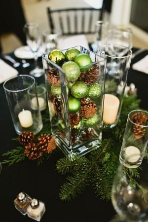 Natale in economia parte ii mamme a spillo - Centro tavola natalizio con pigne ...