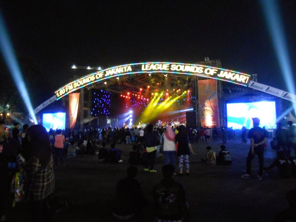 stage acara musik prj 2014