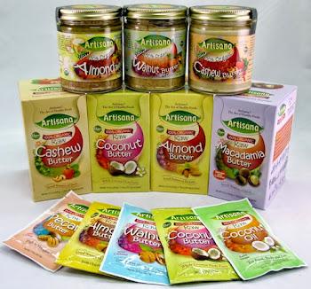 Productos Orgánicos Artisana: Aceite de Coco y Mantequillas de Frutos Secos!