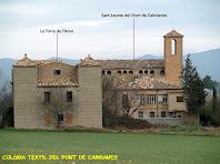 La Torre de l'Amo i l'església de Sant Jaume del Pont de Cabrianes