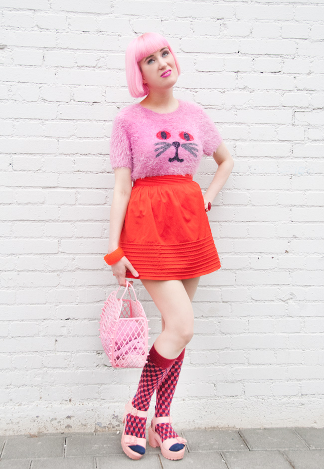 Lazy Oaf, Streetstyle, cat jumper