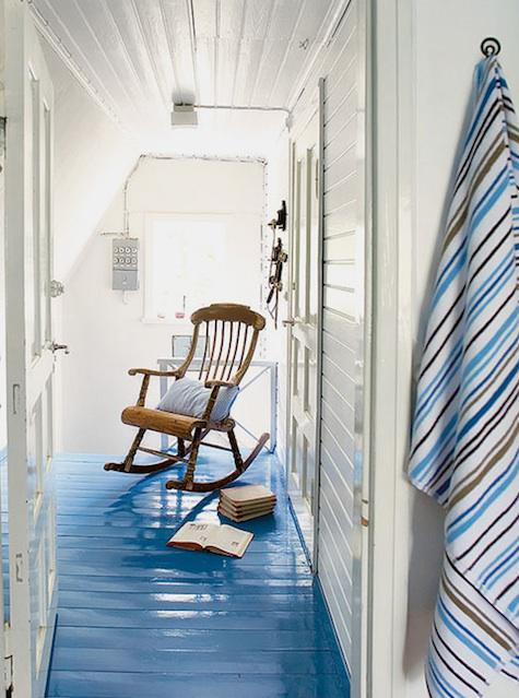 Wallpapers name scandinavian beach house with bright blue painted floors - Pavimenti per casa al mare ...