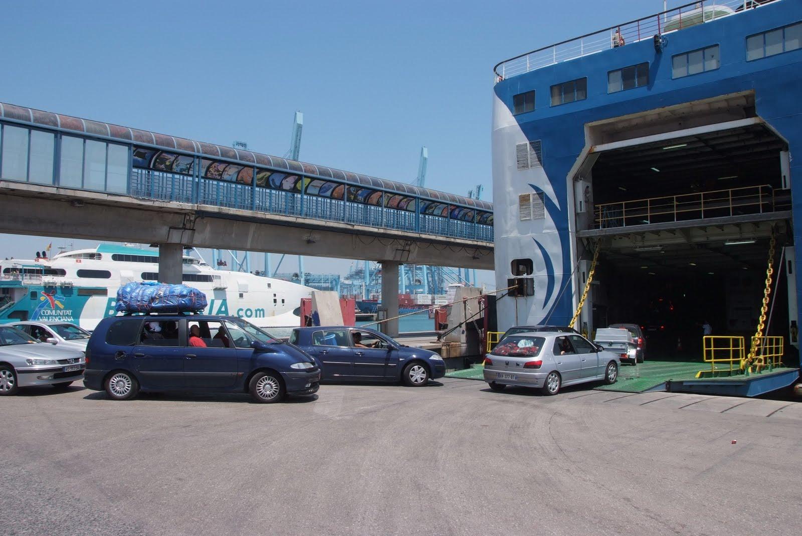 Puerto bah a de algeciras blog operaci n paso del estrecho - Puerto de algeciras hoy ...