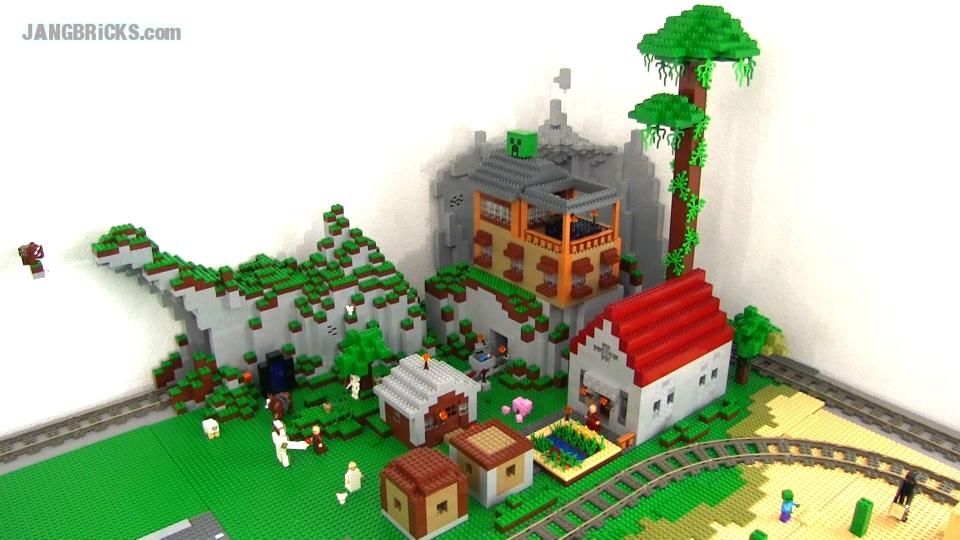 Лего поделки из майнкрафта