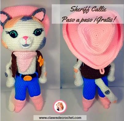 Sheriff Callie Crochet: paso a paso gratis el amigurumi más preciado ...