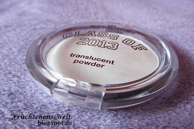 Review - essence Class of 2013 - Translucent Powder SHEERLEADER