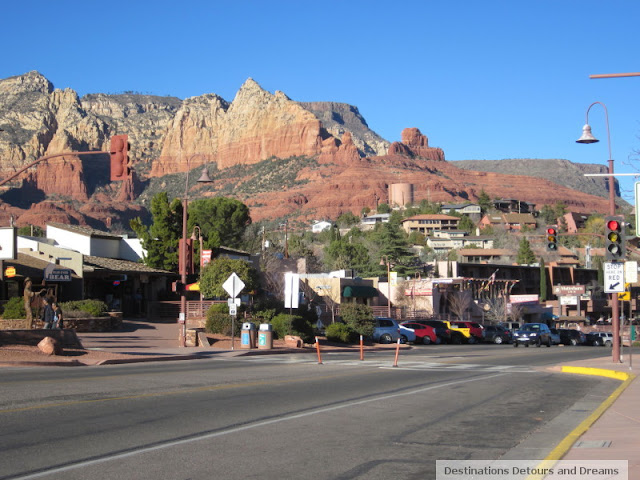 Old town Sedona, Arizona