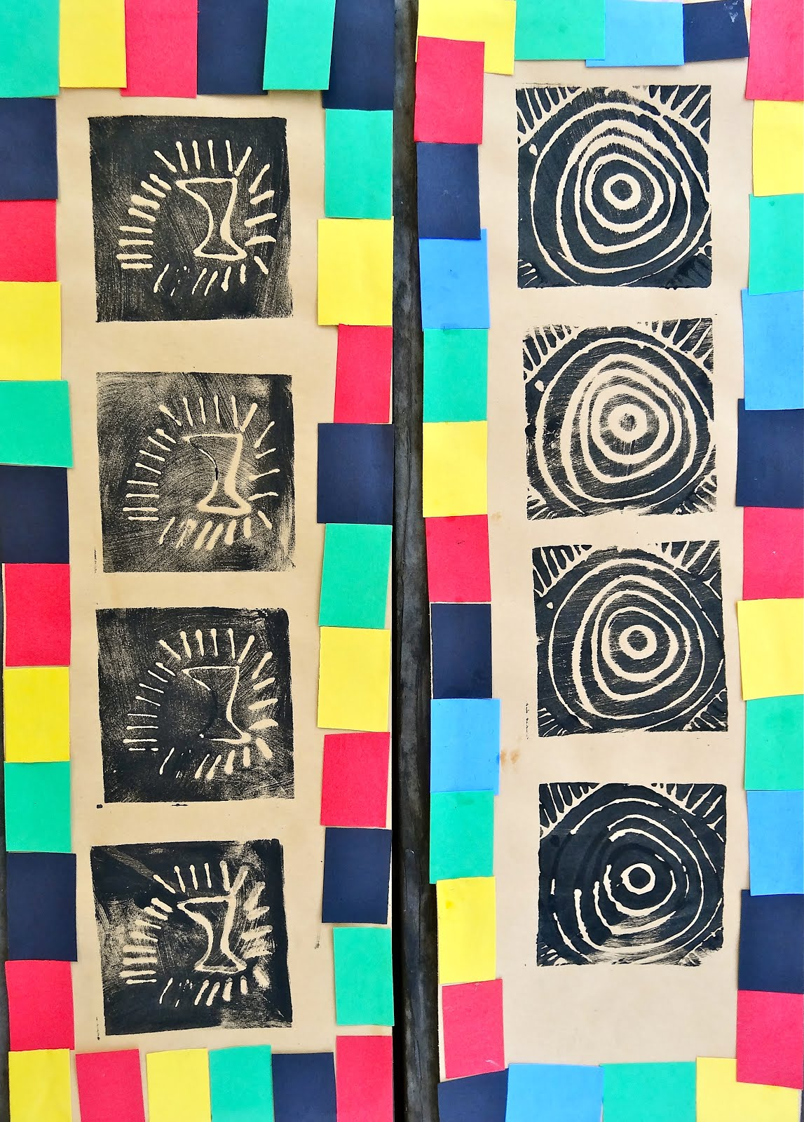 Rl Arts Adinkra Cloth Printmaking