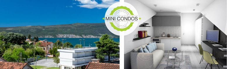 Studio for sale in Donja Lastva Tivat, Montenegro 59.000€